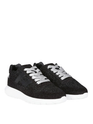 HOGAN: sneakers online - Sneaker H371 Interactive³ glitter all-over