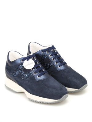 HOGAN: sneakers online - Sneaker Interactive con H glitter
