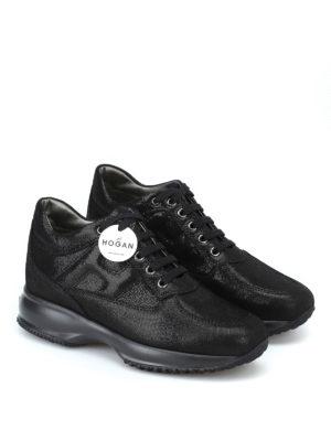 HOGAN: sneakers online - Sneaker Interactive in suede effetto laminato