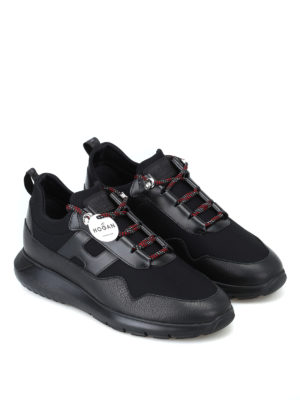 HOGAN: sneakers online - Sneaker Interactive³ nere basse stretch