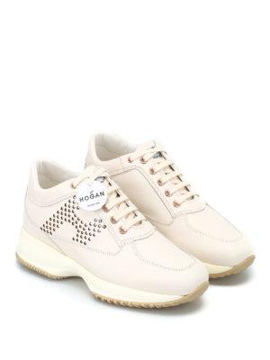 HOGAN: sneakers online - Interactive con H pallini laminati