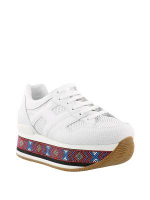 HOGAN: sneakers online - Sneaker Maxi H222 con perline