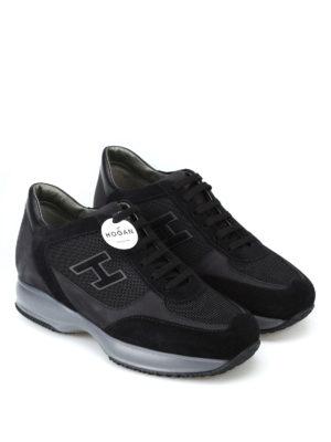 HOGAN: sneakers online - Sneaker New Interactive con H vellutata