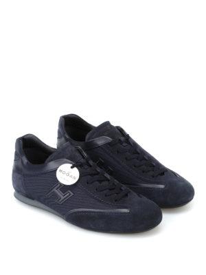 HOGAN: sneakers online - Sneaker basse Olympia blu