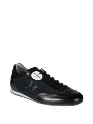 HOGAN: sneakers online - Sneaker Olympia inserti in tessuto