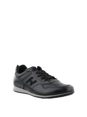 HOGAN: sneakers online - Sneaker Olympia X-H205 blu nere