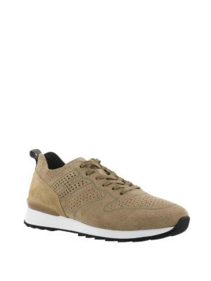 HOGAN: sneakers online - Sneaker R261 in suede e nabuk