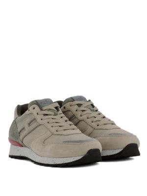 HOGAN: sneakers online - Sneaker Running R261 in nabuk