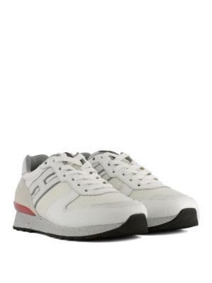 HOGAN: sneakers online - Sneaker Running R261 bianche