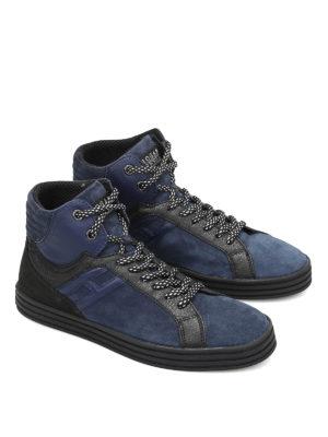 Hogan Rebel: trainers online - R141 high-top basket sneakers