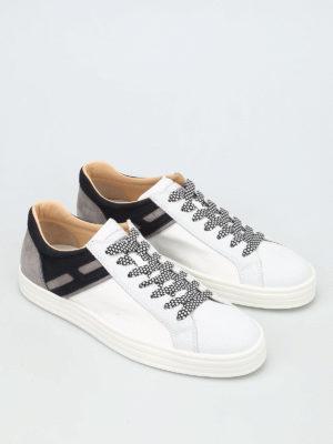 Hogan Rebel: trainers online - R141 low-top leather sneakers