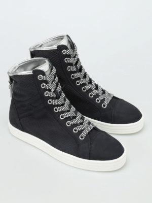 Hogan Rebel: trainers online - R182 buckle high top sneakers
