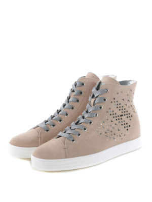 Hogan Rebel: trainers online - R182 drilled sides sneakers