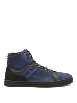 Hogan Rebel: trainers - R141 high-top basket sneakers