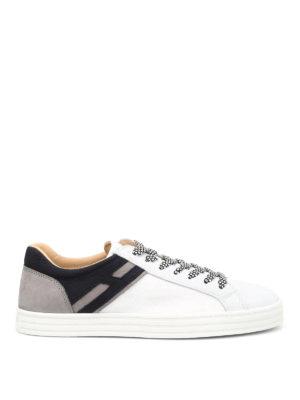 Hogan Rebel: trainers - R141 low-top leather sneakers