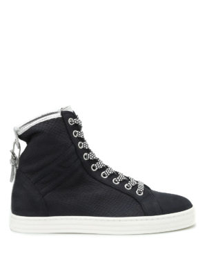 Hogan Rebel: trainers - R182 buckle high top sneakers