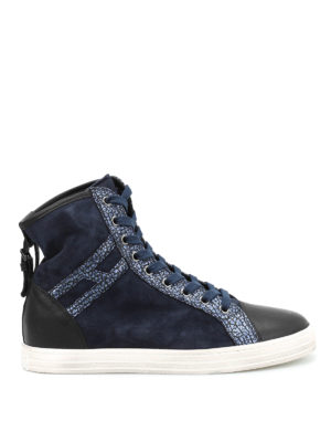 Hogan Rebel: trainers - R182 high top sneakers