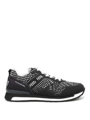 Hogan Rebel: trainers - R261 3D two-tone lace-up sneakers