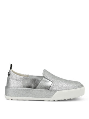 Hogan Rebel: trainers - R320 glittered slip-ons