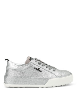 Hogan Rebel: trainers - R320 glittered sneakers
