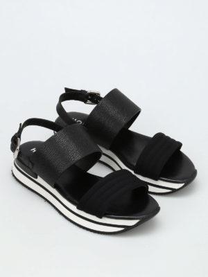 Hogan: sandals online - H257 platform sandals
