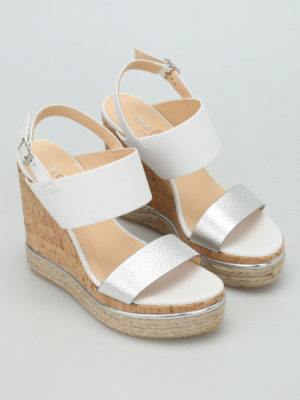 Hogan: sandals online - H324 wedge sandals