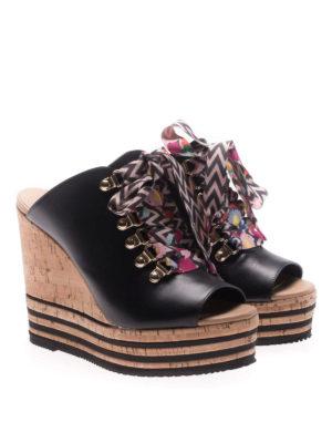 Hogan: sandals online - H361 sandals with coloured laces