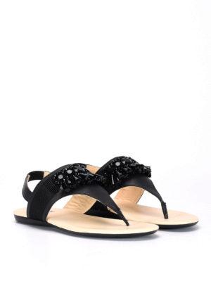 Hogan: sandals online - Valencia embellished sandals