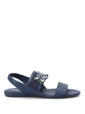Hogan: sandals - Valencia embellished sandals
