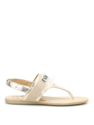 Hogan: sandals - Valencia thong sandals
