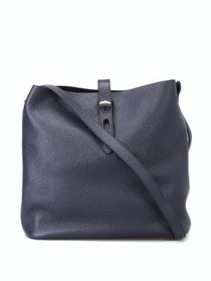 HOGAN: borse a spalla - Tracolla media Hobo Iconic blu