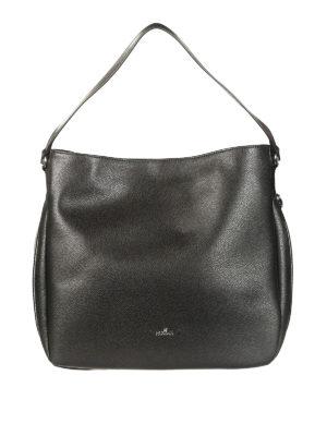 Hogan: shoulder bags - Hobo hammered leather bag
