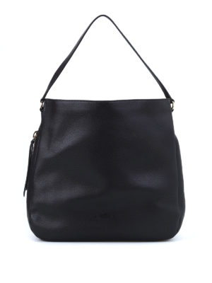 Hogan: shoulder bags - New Hobo hammered leather bag