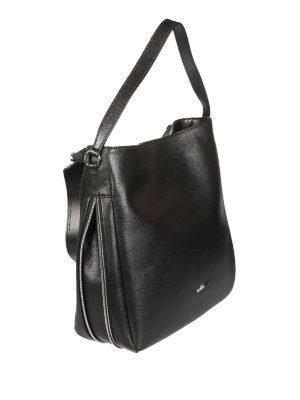 Hogan: shoulder bags online - Hobo hammered leather bag