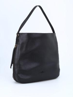 Hogan: shoulder bags online - New Hobo hammered leather bag
