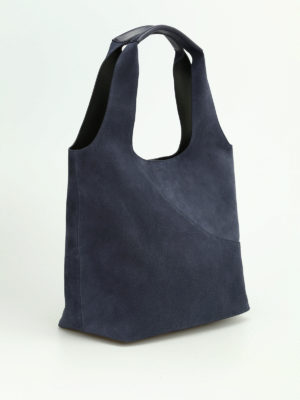 Hogan: shoulder bags online - Soft suede supple shoulder bag