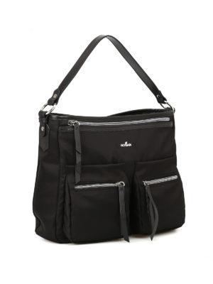 Hogan: shoulder bags online - Trend black messenger bag