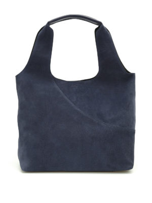 Hogan: shoulder bags - Soft suede supple shoulder bag