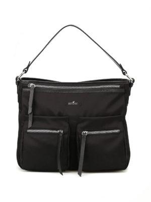 Hogan: shoulder bags - Trend black messenger bag