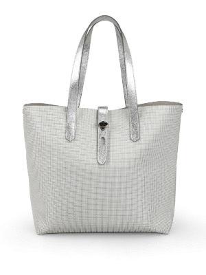 HOGAN  shopper - Shopper grande in pelle metallizzata 637462285b3