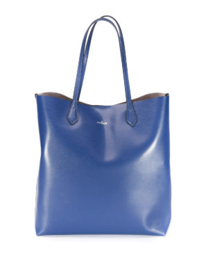 Hogan: totes bags - Leather open top tote