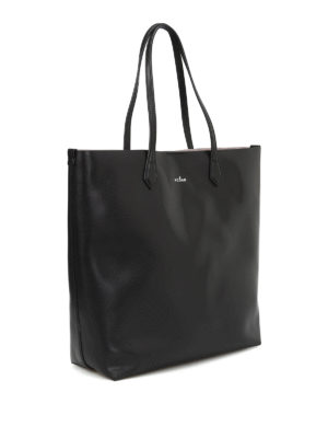 Hogan: totes bags online - Leather open top tote