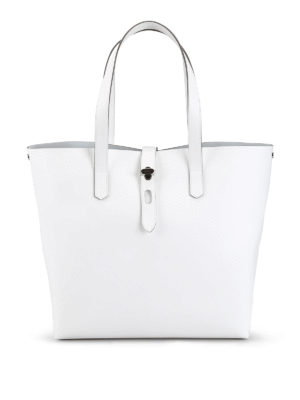 841ee46b0fcfe HOGAN  shopper - Shopper in pelle bianca