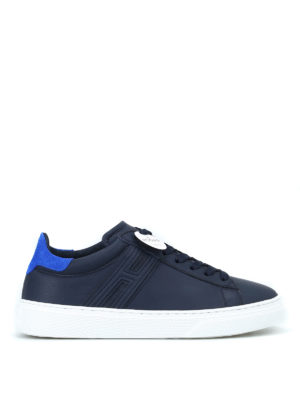 HOGAN: sneakers - Sneaker H365 blu