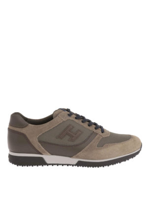 Hogan: trainers - H198 low top sneakers