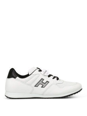 Hogan: trainers - H205 Olympia white sneakers