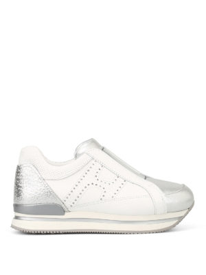 HOGAN: sneakers - Slip-on H222 con H forata