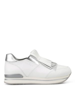 Hogan: trainers - H222 fringed slip-on sneakers