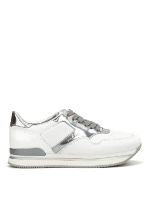 Hogan: trainers - H222 leather and patent sneakers