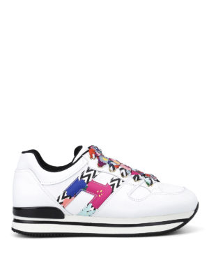 Hogan: trainers - H222 patterned H and laces sneakers